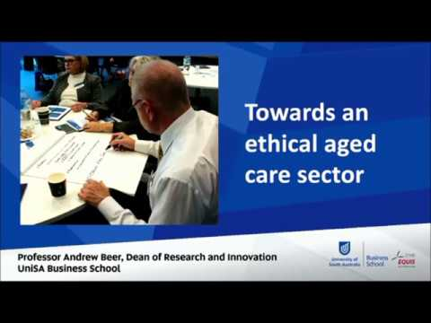 Successful Ageing Seminar - An Ethical Framework for a Better Aged Care Sector