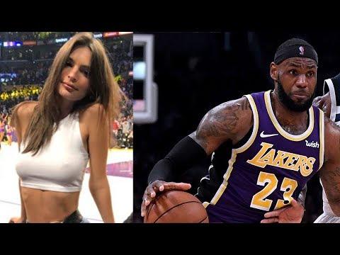 LeBron James' EX Teammates TROLL Him For Headband While SI Model Emily Ratajkowski SHOOTS HER SHOT!