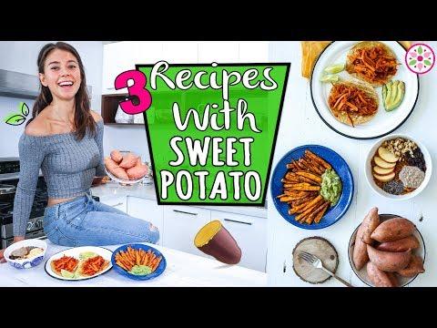 RECIPES WITH SWEET POTATO - Vegan And Easy! 😋Yovana
