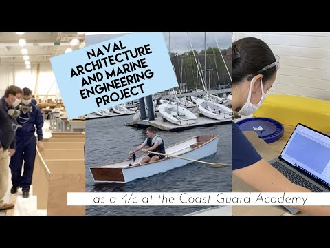 Naval Architecture and Marine Engineering Design and Build Project at the Coast Guard Academy