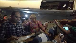 Перелёт Москва-Каир, внезапный концерт арабской музыки.