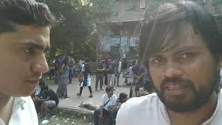 JNU Election 2018 Update: सुधांशु शेखर ने बताया ABVP के छात्रों द्वारा झड़प की आँखों देखी