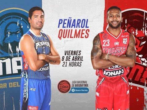 Liga Nacional de Básquet: Peñarol vs. Quilmes | #LaLigaEnTyC