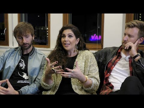 Lady Antebellum interview - Hillary, Dave, and Charles (part 1)