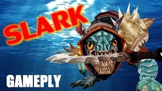 Live Slark + Ancient Aparition / Dota 2