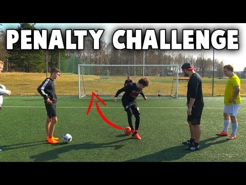 154 PENALTY CHALLENGE!!