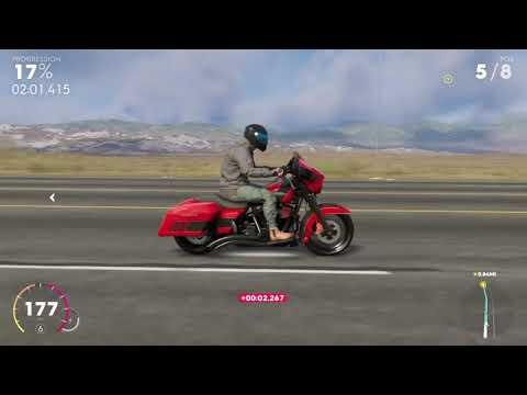!!ALMOST LOST!! Driving the Harley-Davidson Street Glide - THE CREW 2 gameplay |