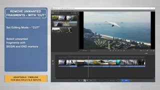 Video Splitter 6 with an Adaptive Timeline
