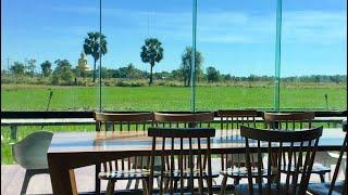 ร้านกาแฟกลางทุ่งนาบรรยากาศสุดฟิน Exclussive Rice Field Coffee Shop