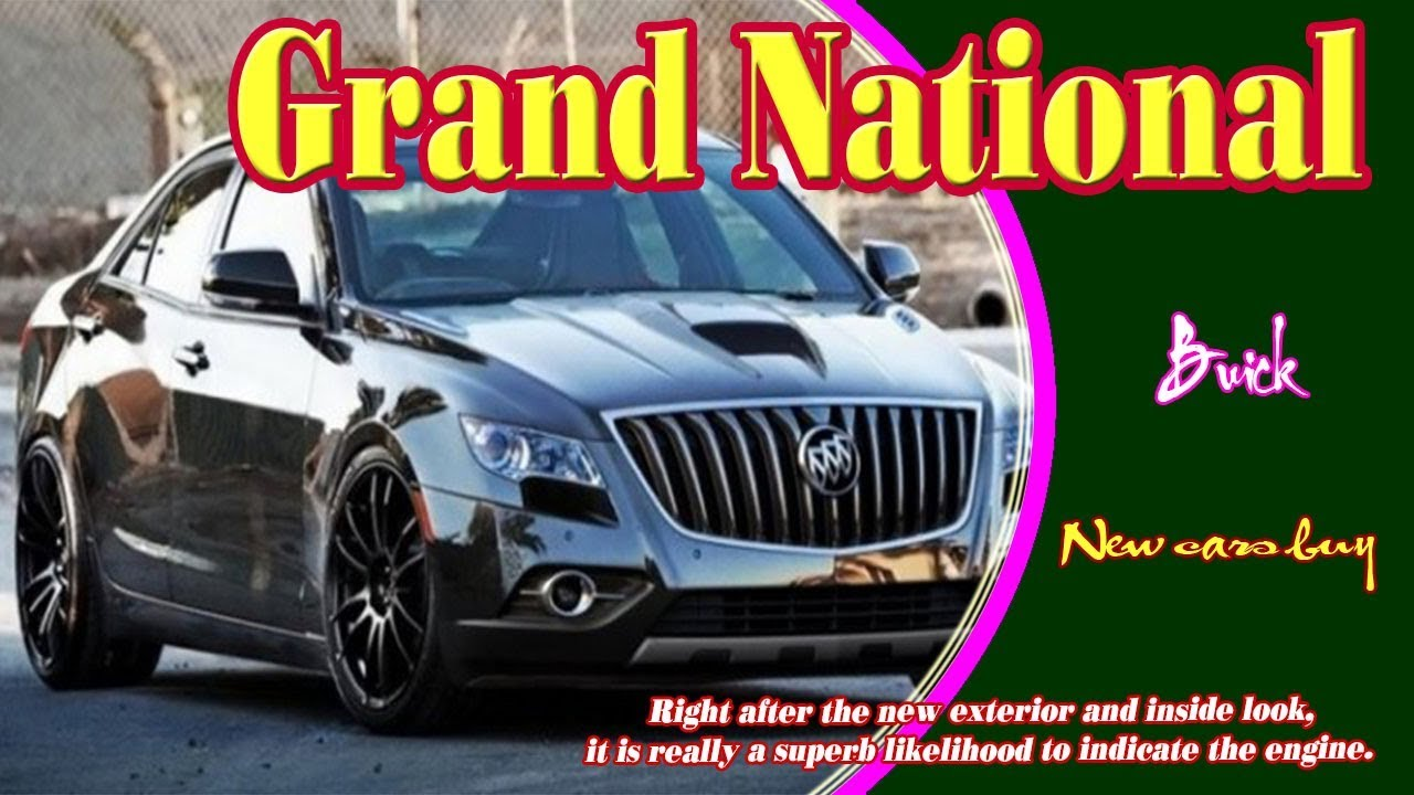 2020 Buick Grand National Gnx History