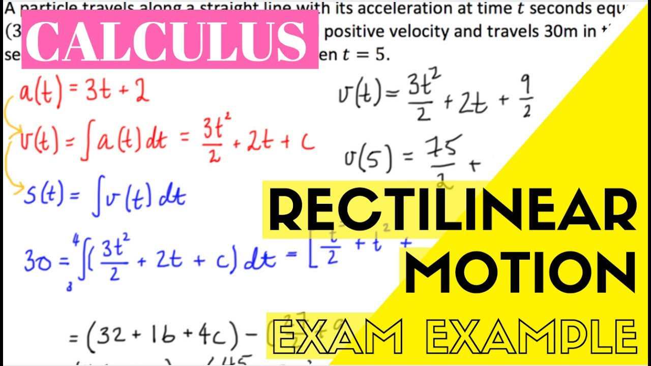 what is rectilinear motion in physics