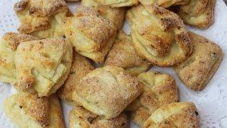 "Farmer Cheese Cookies ""Duck's Feet"". Творожное печенье «Гусиные лапки»"