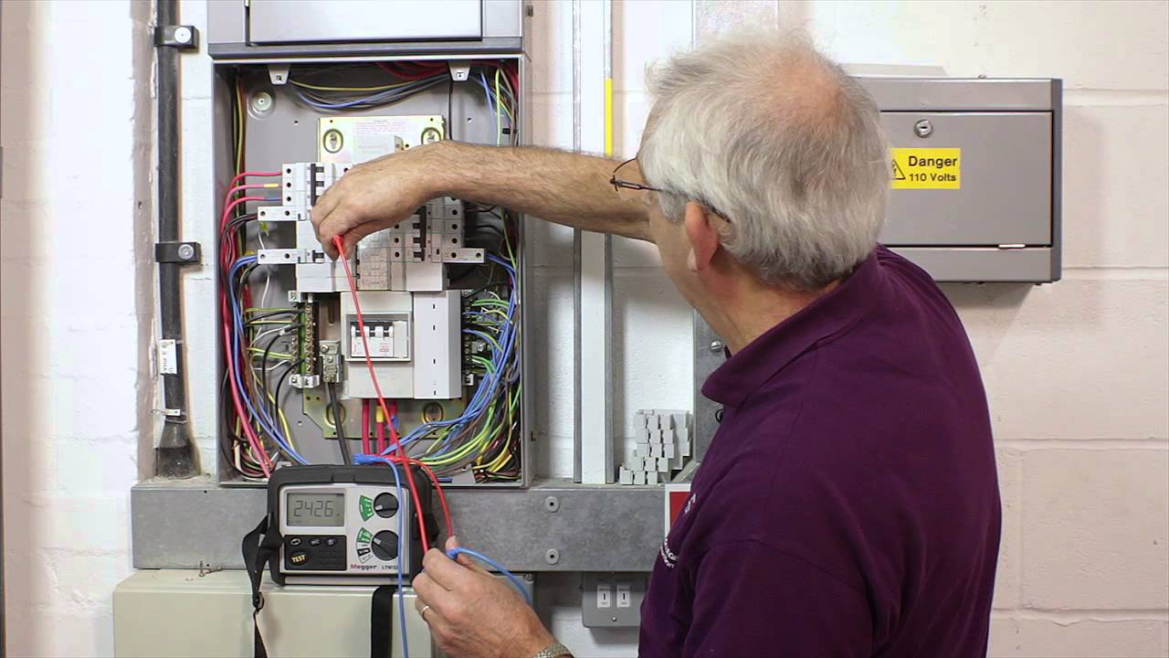3 Phase Electric Panel Wiring Diagram Qr Code 12 Prospective Fault Current Test Youtube