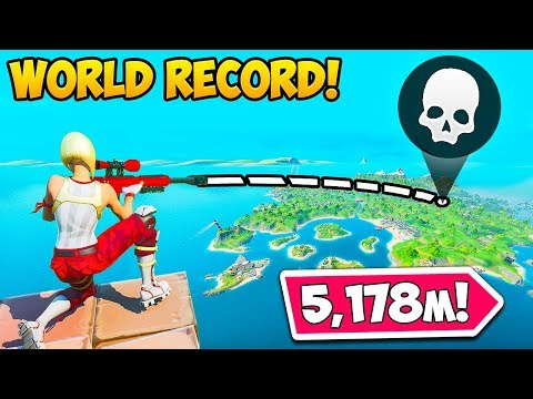 *WORLD RECORD* LONGEST KILL! (5,178M) - Fortnite Funny Fails And WTF Moments! #862
