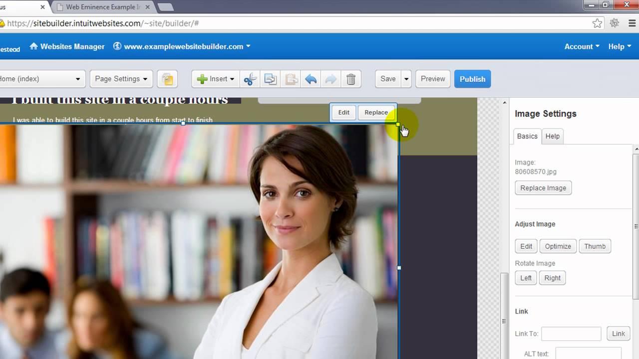 Homestead edit website