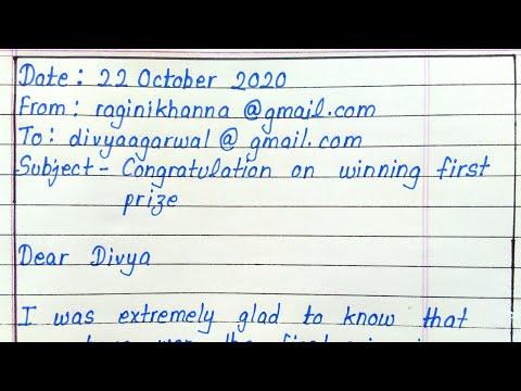 Email writing || English
