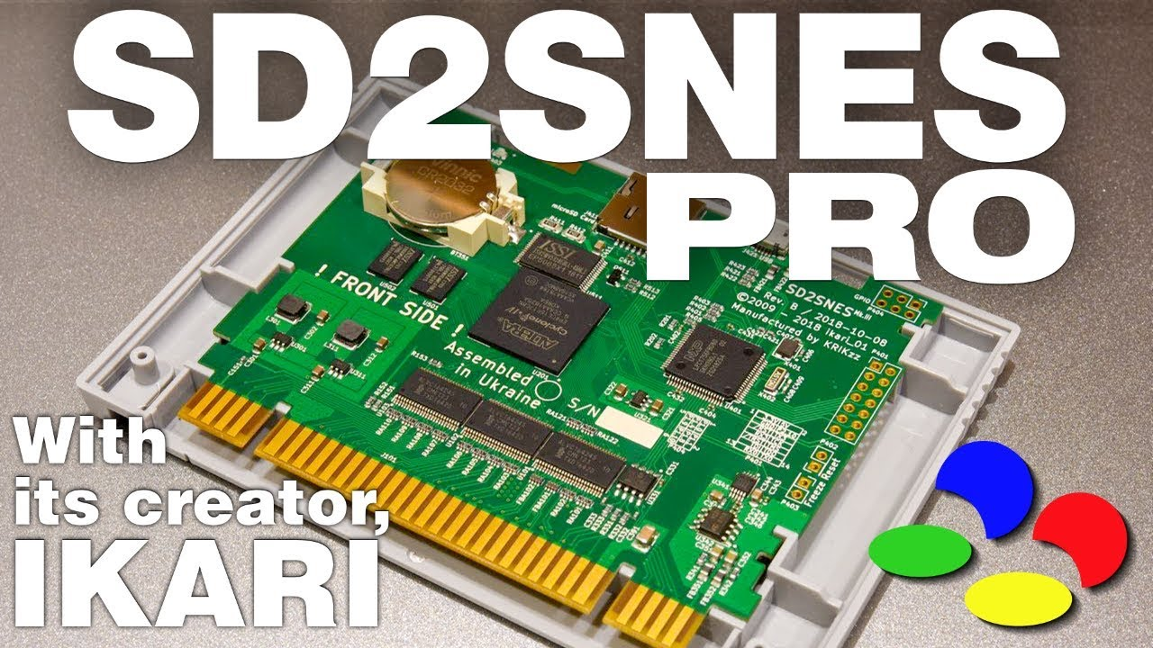SD2SNES PRO Part 1 - Ikari Reveals What's New | SmokeMonster