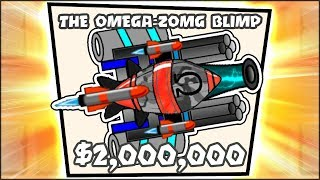 BEST STRATEGY TO DEFEAT THE OMEGA ZOMG FOR 2,000,000$ | Bloons TD Battles Hack/Mod (BTD Battles)