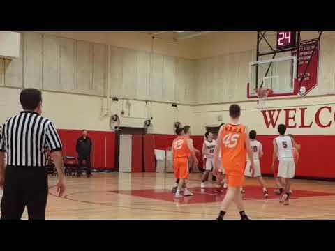 6'2 Aaron Kinsella , Class of 2020 playing with NABA IRELAND
