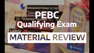 Study References for PEBC Qualifying Exam (MCQ and OSCE)