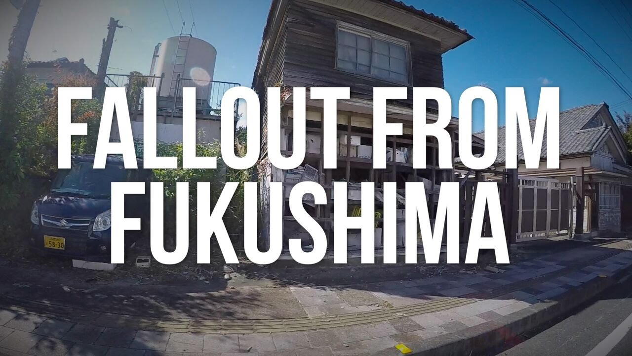 Fallout From Fukushima The Radioactive Exclusion Zone YouTube - Japan exclusion zone map