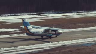 Аэродром ФИНАМ, SkyCenter DZ Пущино, март 2017г.