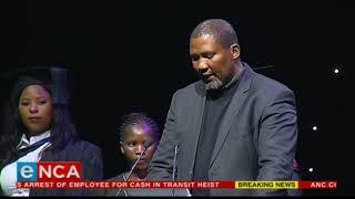 Grandson Mandla Mandela honours Madiba