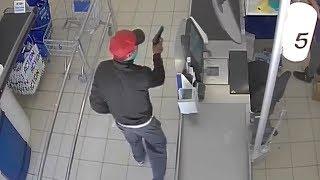 Lelystad: Overval Wibra en Action in winkelcentrum Lelycentre
