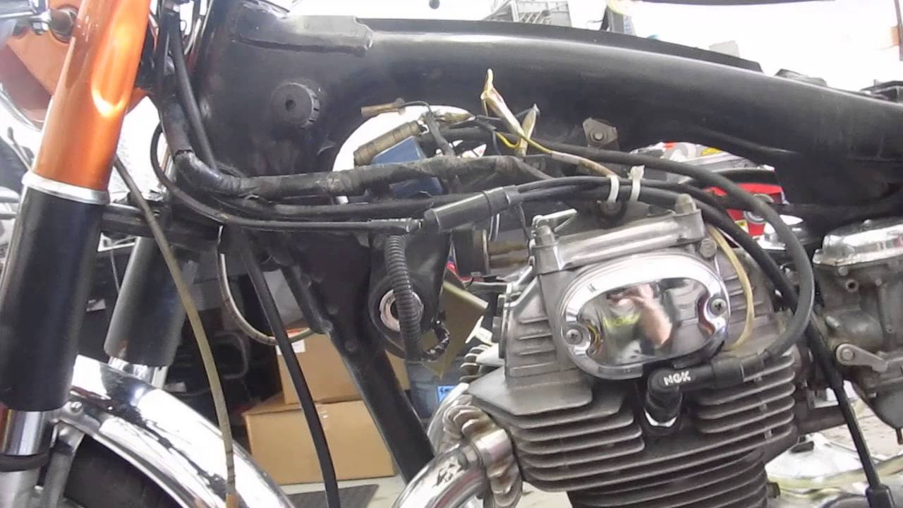 Cb 350 Engine Diagram Search For Wiring Diagrams 1987 Chevy 1971 1973 Honda Cb350 Super Sport Motor And Parts Sale Rh Youtube Com 57l