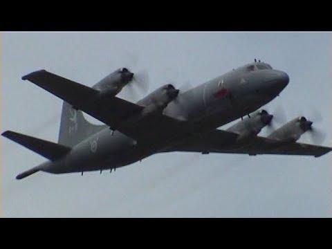 RARE⚠️Flying Display RCAF Lockheed CP-140 Aurora Maritime Patrol Aircraft
