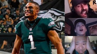 Eagles Draft Jalen Hurts with 53rd pick | EAGLES FAN REACTIONS | NFL Draft 2020