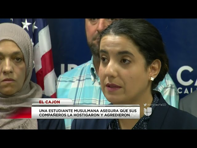 Video: CAIR-San Diego Demands Probe of Bullying Targeting Muslim Student (Spanish/Univision)