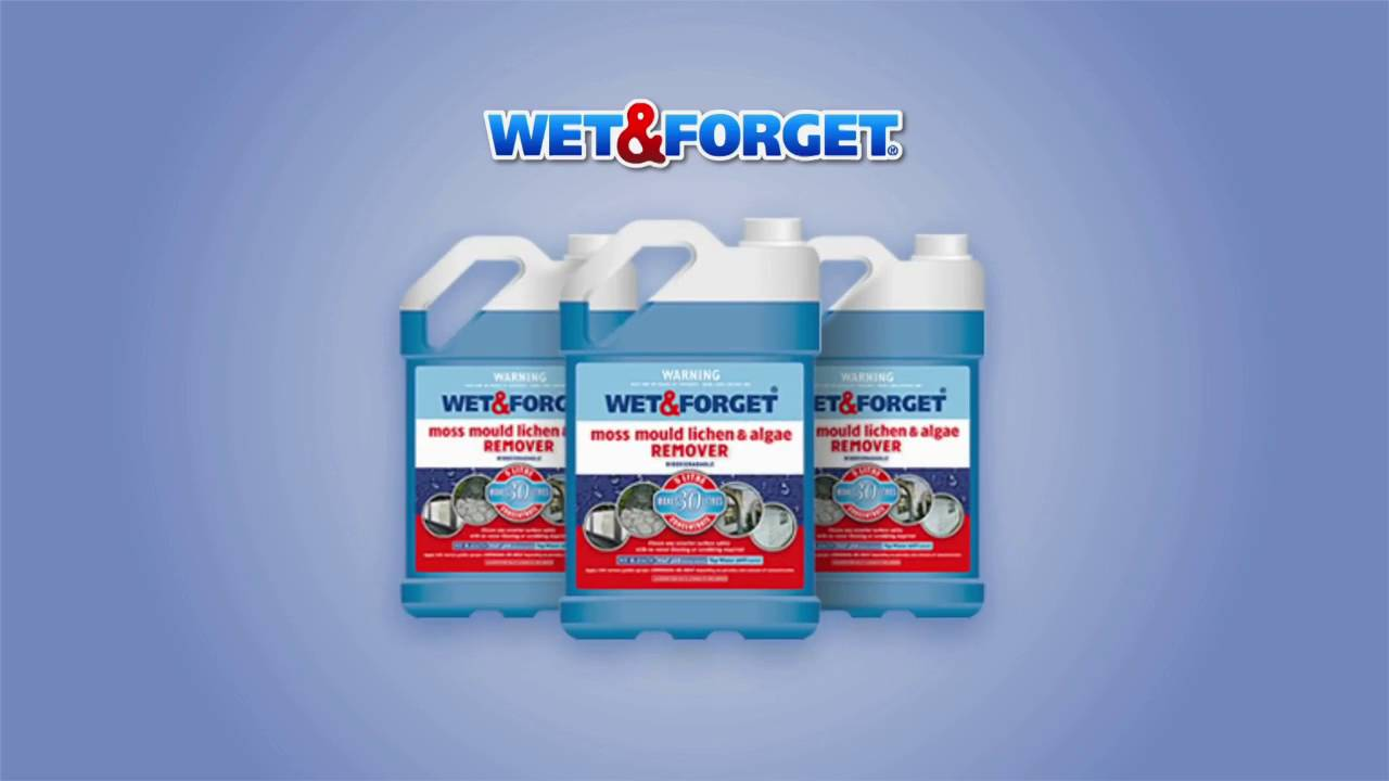 Wet & Forget | Exterior Moss, Mould & Mildew Removal | Wet