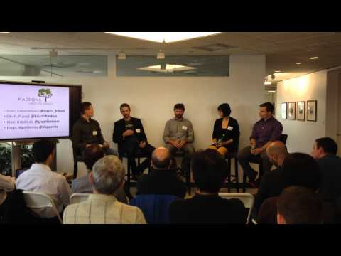 Madrona Tech Lunch Panel: Data and Analytics, October 24, 2014