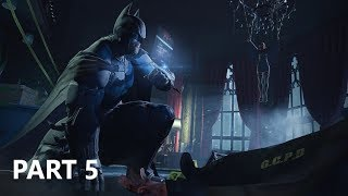 Batman - Arkham Origins - Gameplay 05 - Lacey Tower Crime Scene Investigation