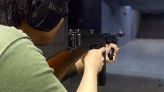 実弾射撃 トンプソン M1928 短機関銃 (Thompson 1928 SMG)