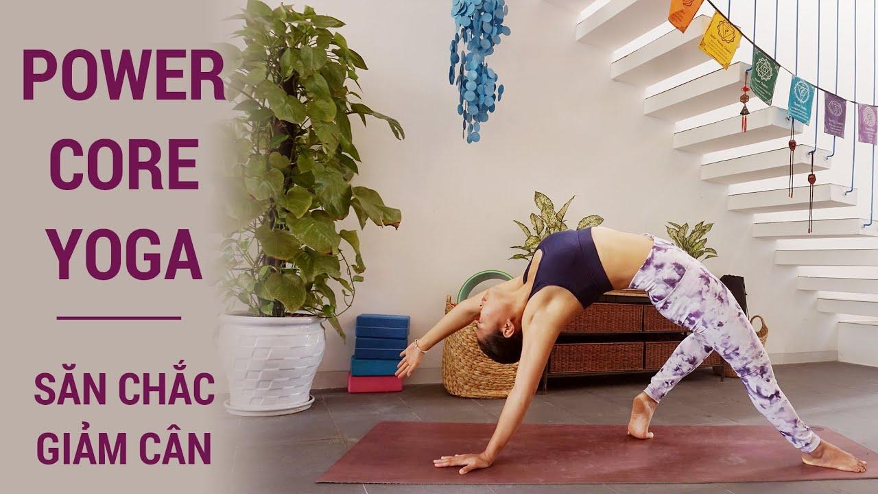Bài Power Yoga tăng sức mạnh cho vai, cánh tay, lưng trên và bụng.