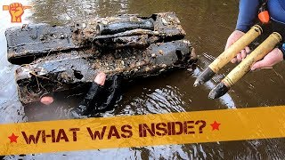 Mystery Boxes found on the bottom of a WW2 Lake