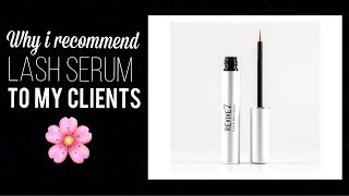Why I Recommend Lash Serum to my Lash Extension Clients
