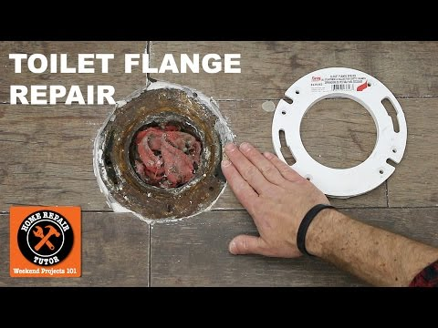 Toilet Flange Repair Using a Toilet Flange Extender (Step-by-Step)