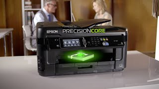 Epson WorkForce WF-7610 All-in-One Printer Powered by PrecisionCore