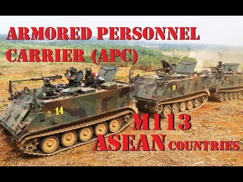 M113 Armoured Personnel Carrier (APC) of ASEAN Countries