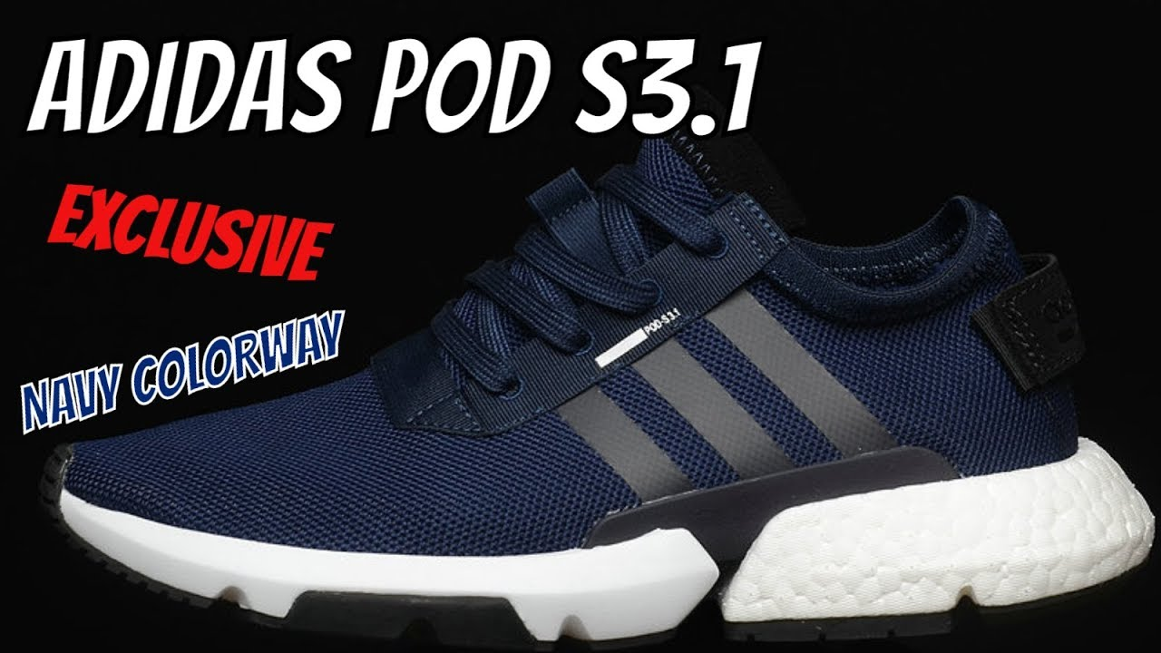 e57a6b65 ADIDAS POD-S3.1 DETAILED SNEAKER REVIEW (NAVY BLUE)