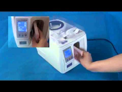 ZB 100 Banknote Strapping machine---Official Video