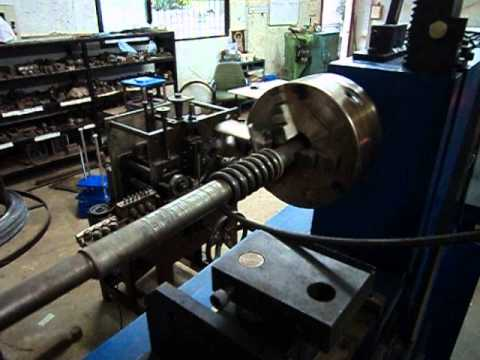 Semi Auto Spring Coil Making Machine By German Spring