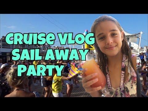 Cruise VLOG #2 - Sail Away Pary - P and O Pacific Dawn Cruise Ship 🚢