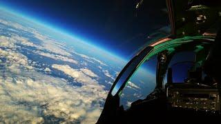 MiG31 Foxhound Edge Of Space Flight • Cockpit View