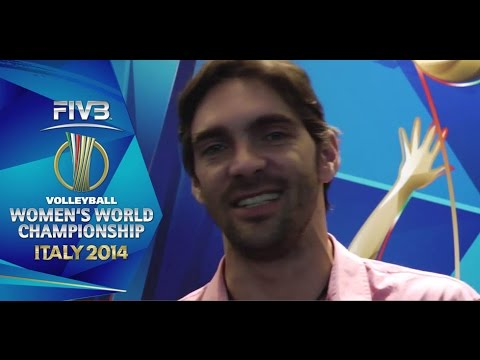 Athlete spotlight: Brazilian legend Giba at the FIVB Women's Championships