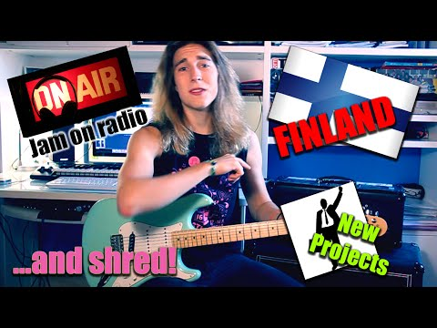 Back from Holidays - Finland, Radio Jam, New Projects