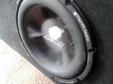 subwoofer planet audio 10 three six mafia youtube rh youtube com planet audio 10-inch 800 watt shallow subwoofer Planet Audio VC10s